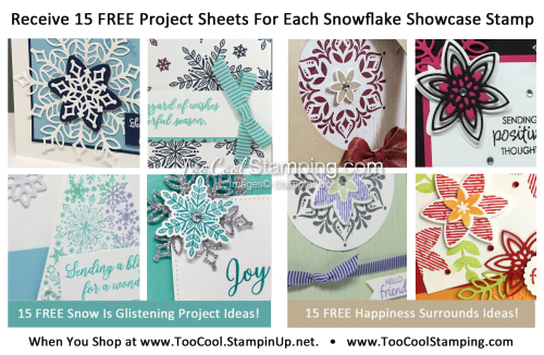 FREE Snowflake Showcase Project Sheets