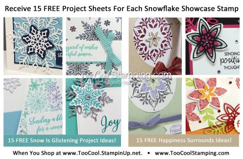 FREE Snowflake Showcase Project Sheets