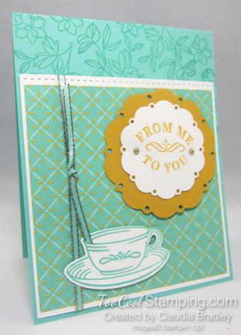 Time for tea to you 1 - bradley