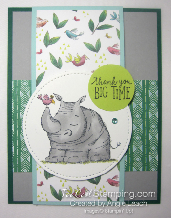Animal outing rhino wild about you
