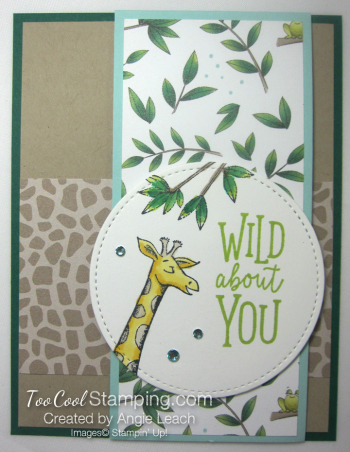 Animal outing giraffe wild about you