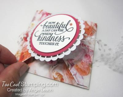 Petal Promenade petal fold card 3