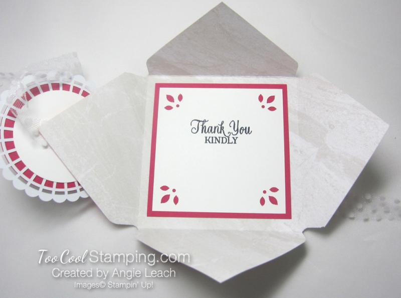 Petal Promenade petal fold card 4