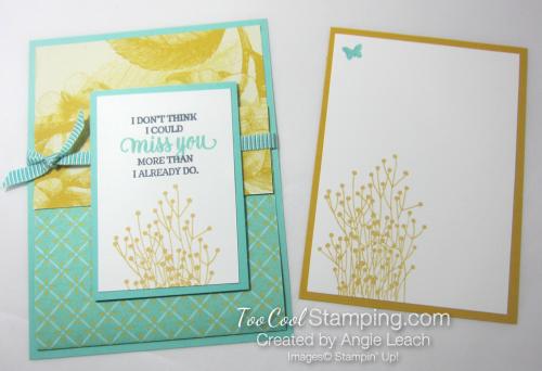 Tea Room Pocket Fold Cards - coastal cabana 3