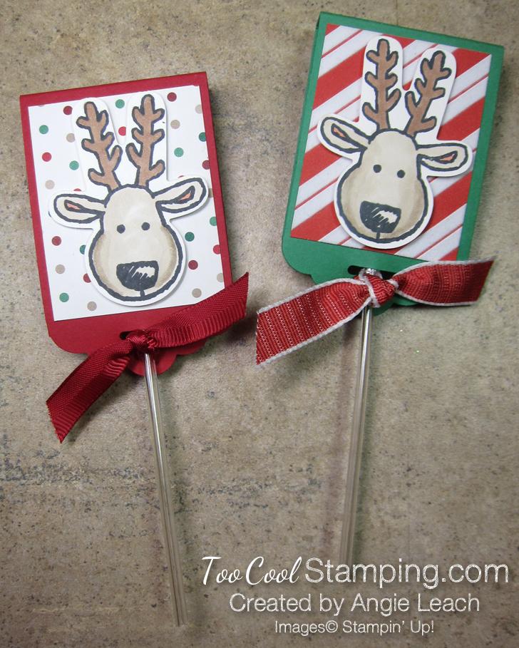 Reindeer lollipop - too cool