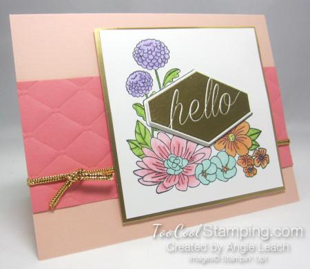 Alaska accented blooms - petal flamingo 1