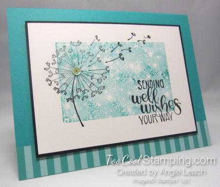 Dandelion wishes well wishes - bermuda