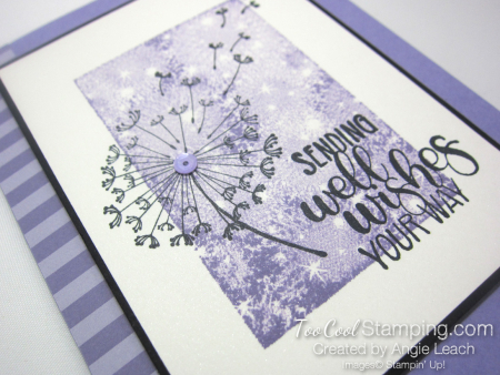 Dandelion wishes one layer - heather 2