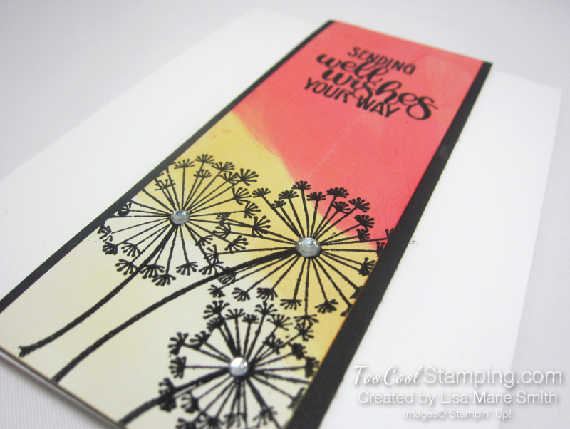 Dandelion wishes glossy paper 2 - lisa marie