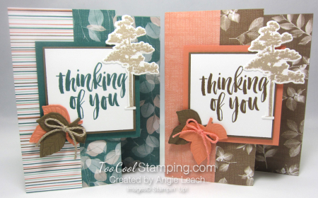 Natures poem fun fold card - two cool