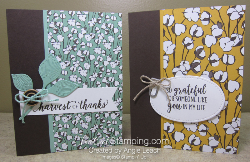 Country lane card front - two cool