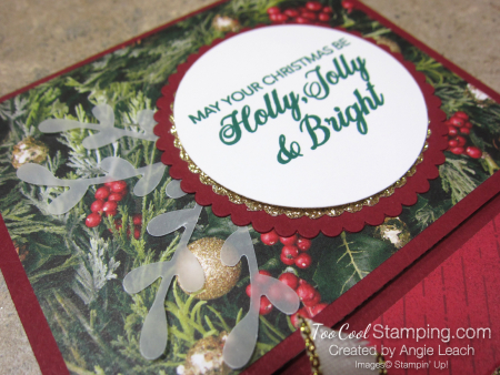 Making Christmas Bright Gift Card Holders - holly jolly 4