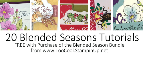 20 FREE Blended Seasons Tutorials
