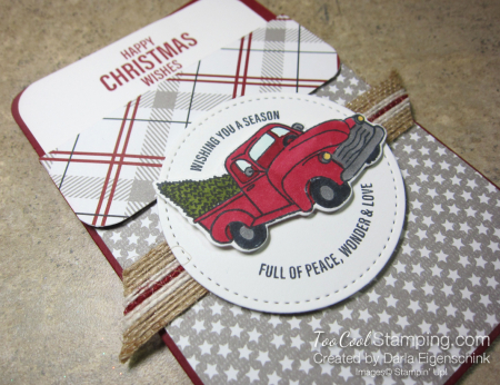 Darlas pull out gift card holders - truck 3
