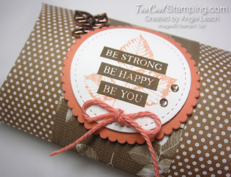 Be Strong Pillow Boxes - grapefruit 2