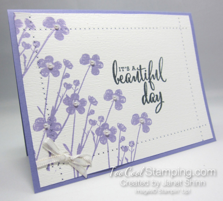 Pressed flowers linen 3 - janet