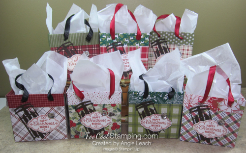 Dsp mini gift bags - collection