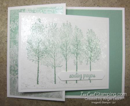 Winter Woods Joy Fold - frost pearl
