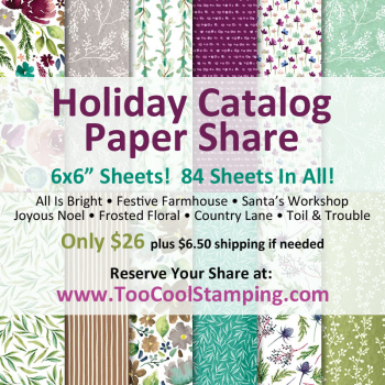Holiday Catalog Paper Share 2018