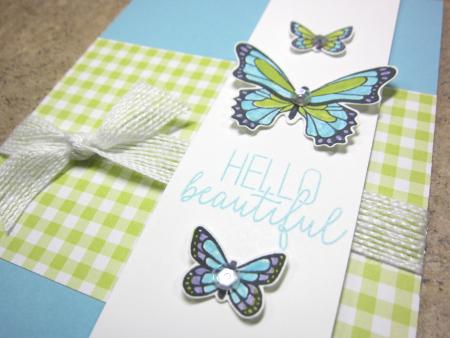 Butterfly Gala Trio - balmy blue 3