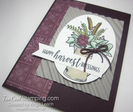 Country Home harvest blessings - blackberry 2