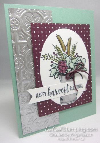 Country Home harvest blessings - mint 1