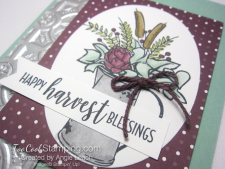 Country Home harvest blessings - mint 3