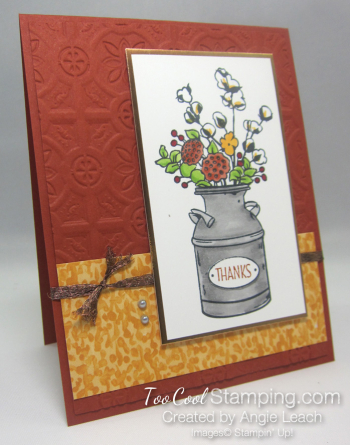 Country Home tin tile - bold