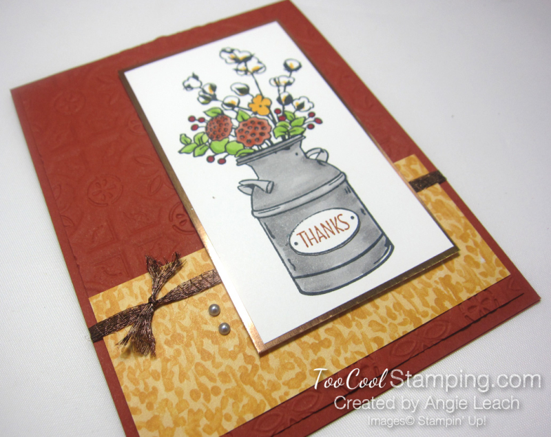 Country Home tin tile - bold 2