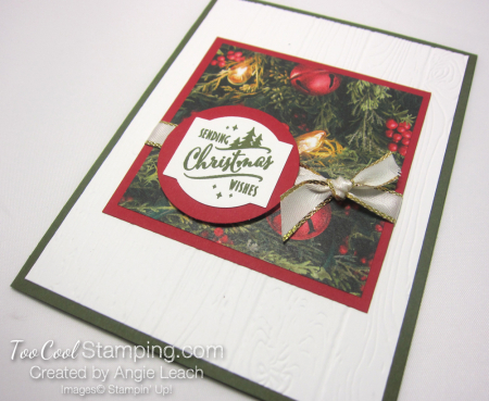 Paper sampler cards - christmas wishes 2
