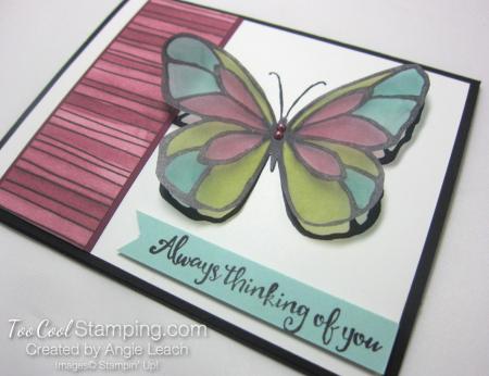 Beautiful Day Vellum Butterfly - razzleberry 3