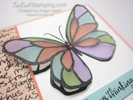 Beautiful Day Vellum Butterfly - petal 3