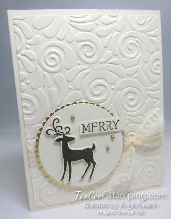 Dashing deer merry - circle merry 1