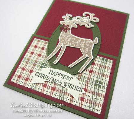 Dashing deer - rhonda bassler fancy fold 3