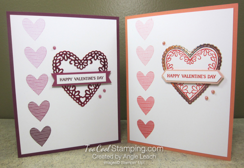 Meant To Be Foil Heart Ombre - two cool