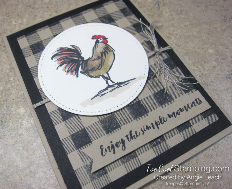 Home to roost buffalo check - black 2