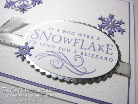 Beautiful Blizzard White Snowflake Hugs - heather 3