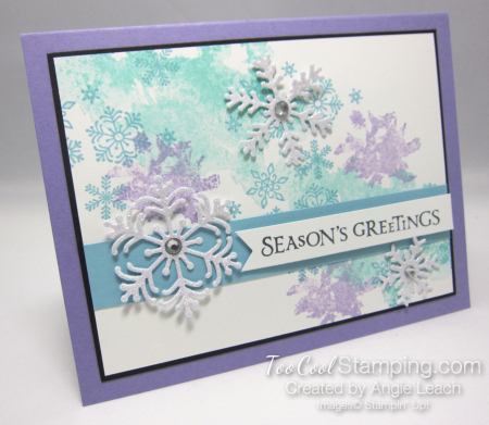 Beautiful blizzard seasons greetings - heather