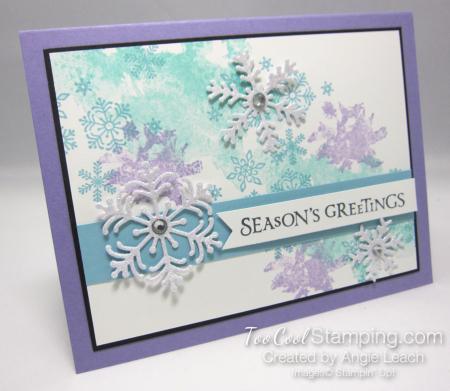 Beautiful blizzard seasons greetings - heather