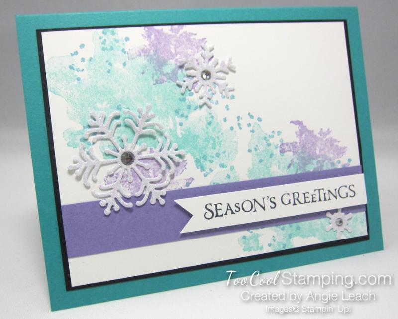 Beautiful blizzard seasons greetings - bermuda