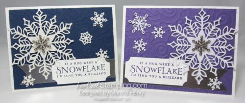 Snowfall swirls blizzard - two cool