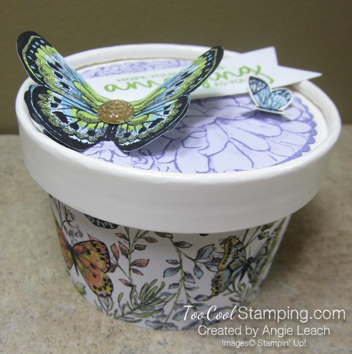 Butterfly sweet cups - lid 5.5