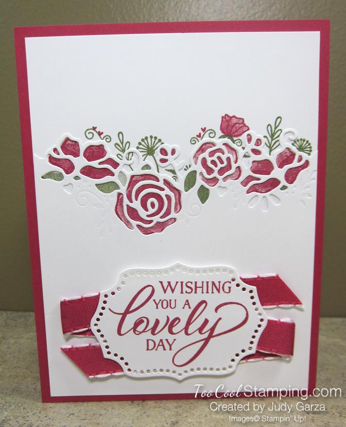 Forever Lovely Roses - Judy Garza