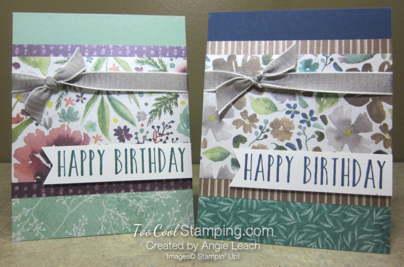 Frosted floral birthday - two cool
