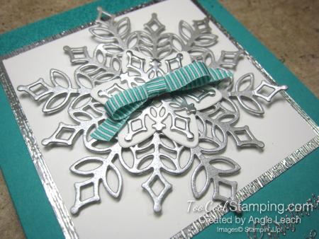 Snowfall Silver Snowflake - bermuda 3