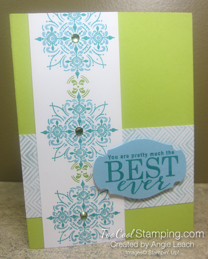 All Adorned Best Ever Borders - lime