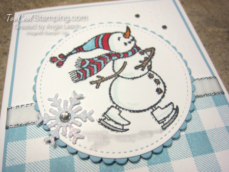 Spirited snowman buffalo check - winter cheer 3