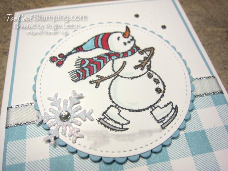 Spirited snowman buffalo check - winter cheer 3