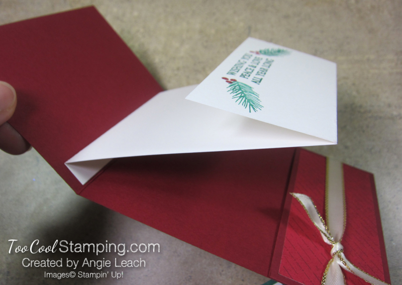 Making Christmas Bright Gift Card Holders - holly jolly 3