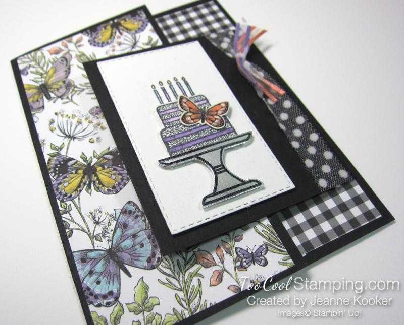 Botanical butterflies piece of cake 2 - jeanne kooker